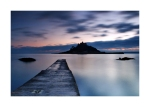 St Michaels Mount Landscape Card