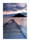 St Michaels Mount Portrait Card